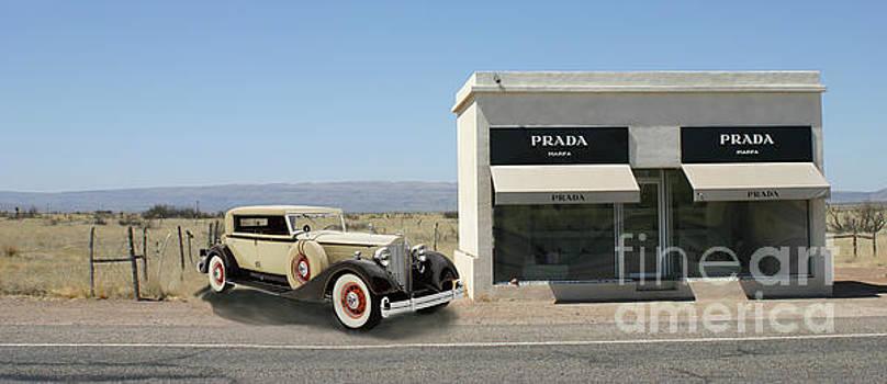 Jack Pumphrey - Out of gas at Prada
