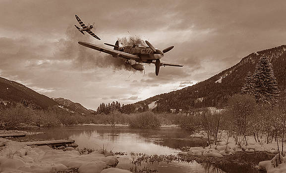 Out of Luck - Sepia by Mark Donoghue