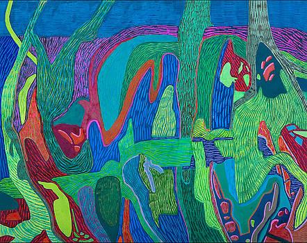 Outback Gardens by Sandra Salo Deutchman