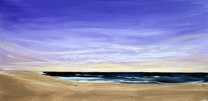 Outer Banks Beach by Katy Hawk