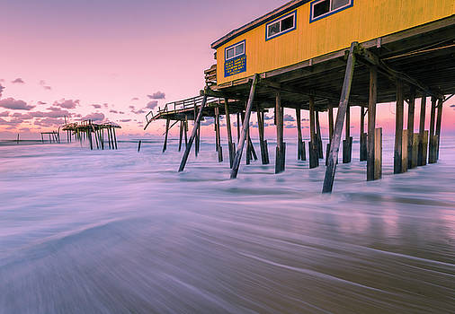 Ranjay Mitra - Outer Banks Fishing Pier Sunrise at Frisco
