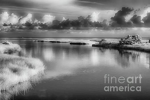 Outer Banks Memories 2 BW by Dan Carmichael