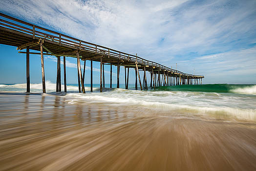 Outer Banks NC Beach Seascape OBX North Carolina by Dave Allen