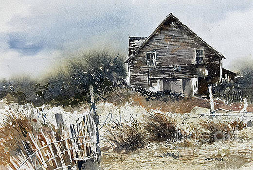 Outer Banks Shack by Monte Toon