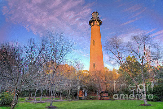 Dan Carmichael - Outer Banks Winter at the Currituck Lighthouse AP