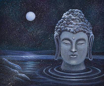 Winter Buddha by Birgit Seeger-Brooks