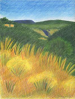 Outside Bandelier by Harriet Emerson