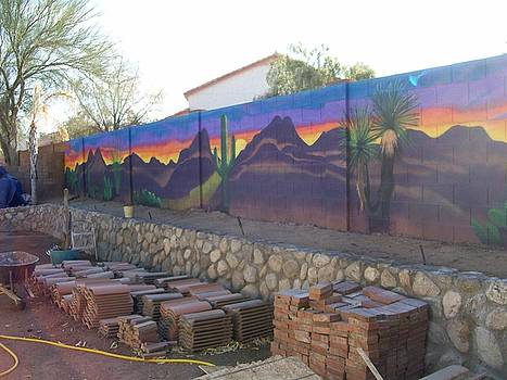 Kathleen Heese - Outside Mural