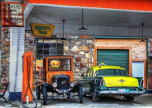 Outside The Star Diner Marshall, North Carolina by Carol Montoya