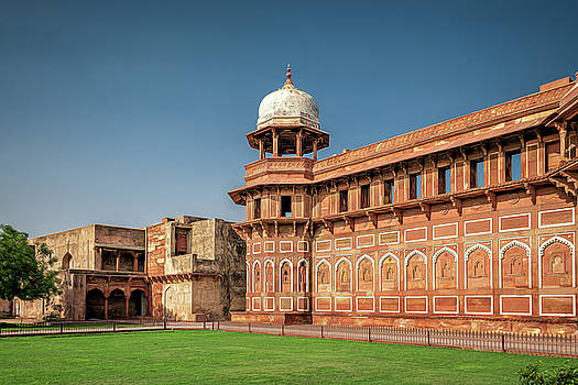 Maria Coulson - Outside View of Agra Fort