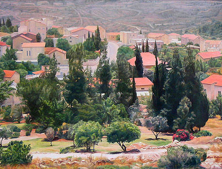 Outskirts of Jerusalem by Maya Bukhina