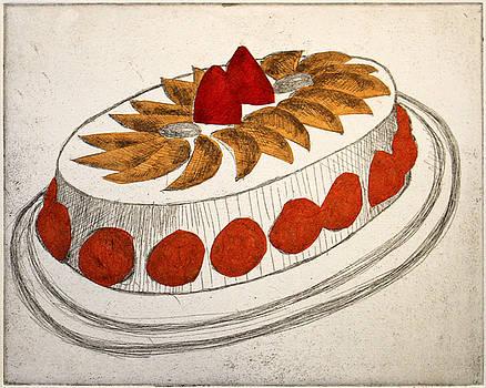 Oval Cake by Michelle Fattibene