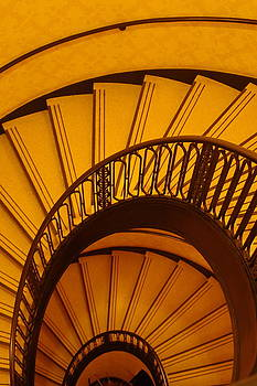 Oval Stairs to Nowhere by Jacques Vesery