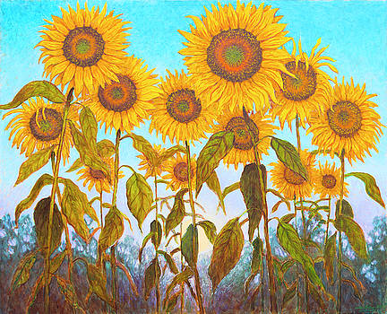 Ovation Sunflowers by Wiley Purkey