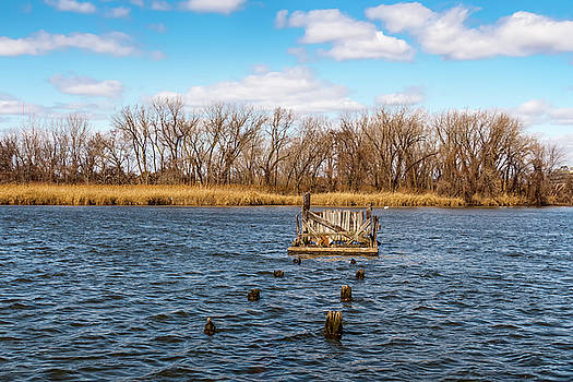 Over at Overpeck Creek  by Jorge Perez - BlueBeardImagery