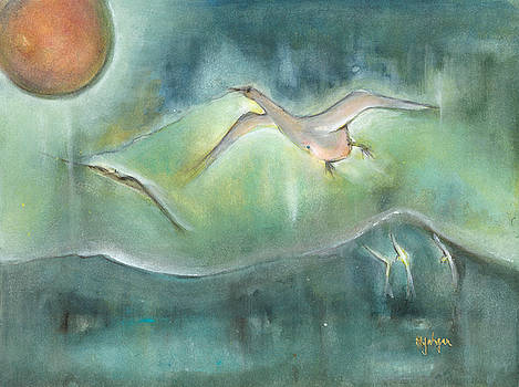 Over night Flight by Naike Jahgan