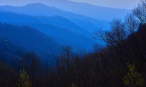 Over the Blue Ridge Mountains by George Lovelace