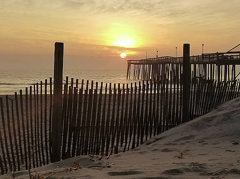 Over The Dune To Sunrise by Robert Banach