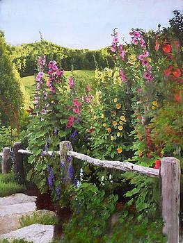 Over the Garden Fence by Anke Wheeler