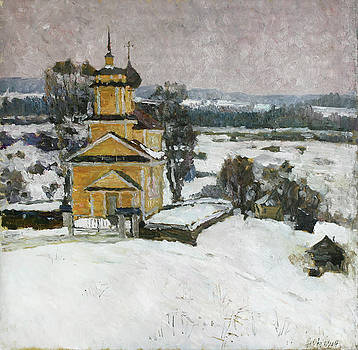 Over the hill by Juliya Zhukova
