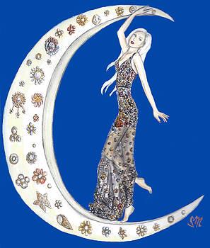 Over the Moon with Alexander McQueen by Sabina Mollot