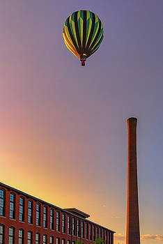 Over The Old Mill by Rick Berk