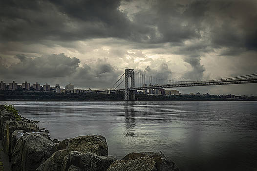 Overcast and a bridge by Jorge Perez - BlueBeardImagery