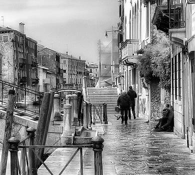 Overcast Day in Venice 2 by John Hoey
