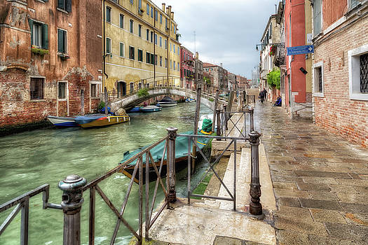 Overcast Day in Venice by John Hoey
