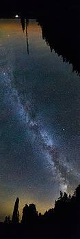 Overhead Pano of Milky Way at the Pinacles view 2 by Jakub Sisak