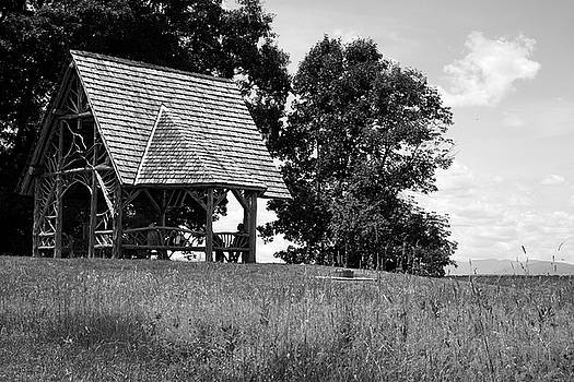 Overlook Pavilion in Summer #1 by Jeff Severson