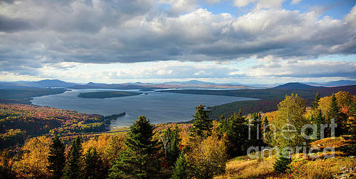 Overlook Rangeley Maine by Alana Ranney
