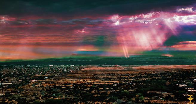 Overlooking Albuquerque by Tony Lopez