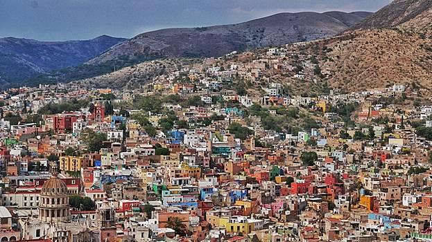 Overlooking Guanajuato, Mexico by Steffani Cameron