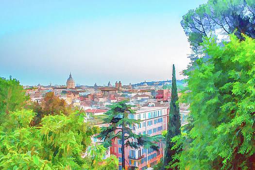Lisa Lemmons-Powers - Overlooking Rome