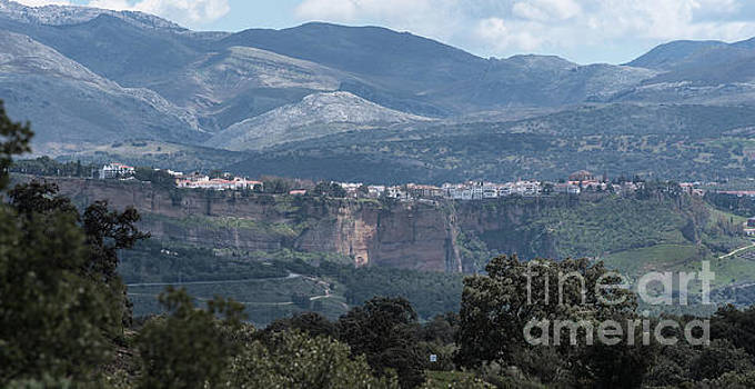 Overlooking Ronda, Andalucia Spain by Perry Rodriguez