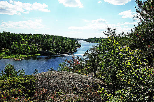 Debbie Oppermann - Overlooking The Key River