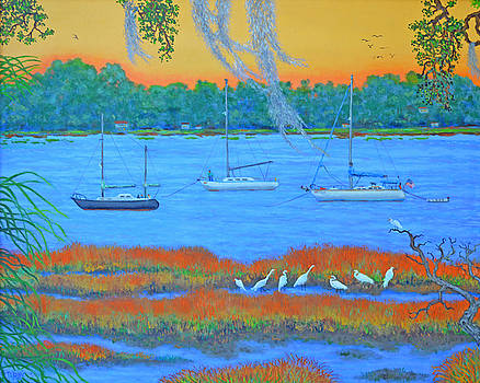 Overnight in Beaufort by Dwain Ray