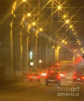 Overpass Traffic by Linda Phelps