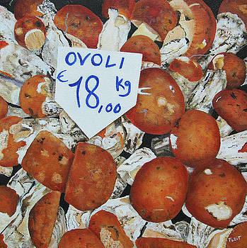 Ovoli Mushrooms by Steven Fleit