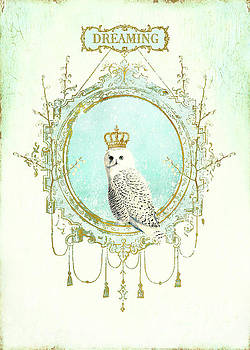 Owl dreaming by Wendy Paula Patterson