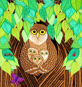 Nick Gustafson - Owl Family Tree