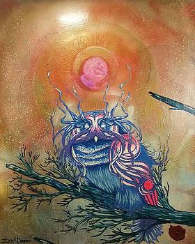 God King Owl by Zero Cannon