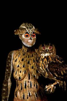 Owl by Johannes Stoetter