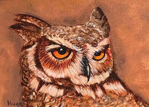 Owl by Linda Hiller