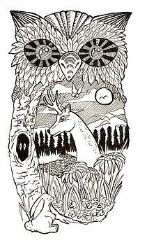 Owl Natural by Jennifer Kelly