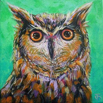 Owl no.7 by Jack No War