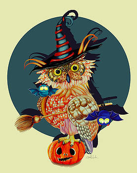 Owl Scary by Isabel Salvador