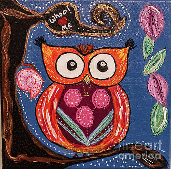 Owl  Whoo Loves Me   by Peggy Franz