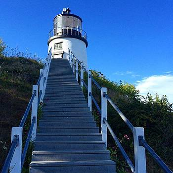 Owls Head Lighthouse by Kerri Ann Crau
